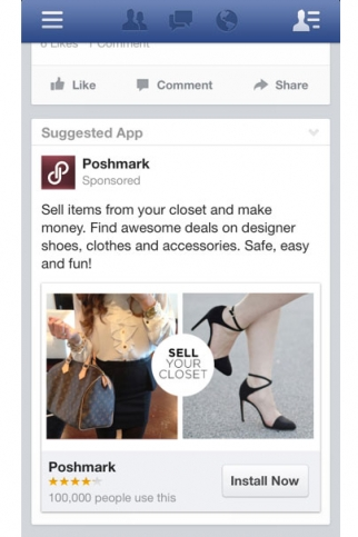 Facebook Mobile Ad