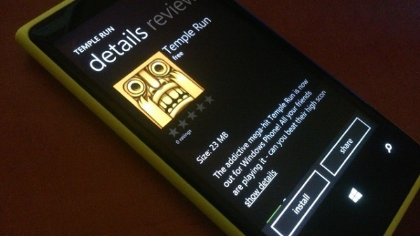 Temple Run for Windows Phone