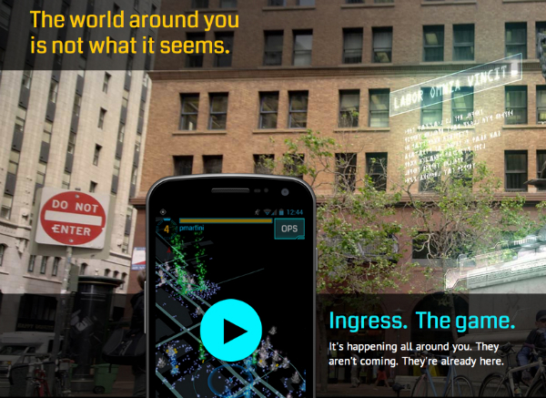 google ingress niantic project